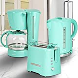 ONVAYA Frühstücksset 3-teilig | Kaffeemaschine Toaster Wasserkocher...