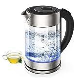 Wasserkocher, 2200 W Wasserkocher mit einstellbarer Temperatur,...