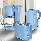 ONVAYA Frühstücksset | hellblau | Kaffeemaschine Toaster...