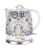 CONCEPT Hausgeräte RK0020 Keramik Wasserkocher, Einzigartiges Design,...