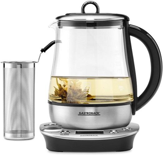 Gastroback Wasserkocher Teekocher 42438 Glas