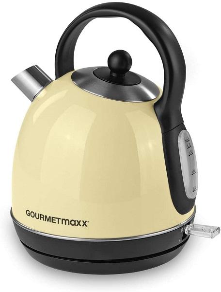 Gourmetmaxx Wasserkocher Retro