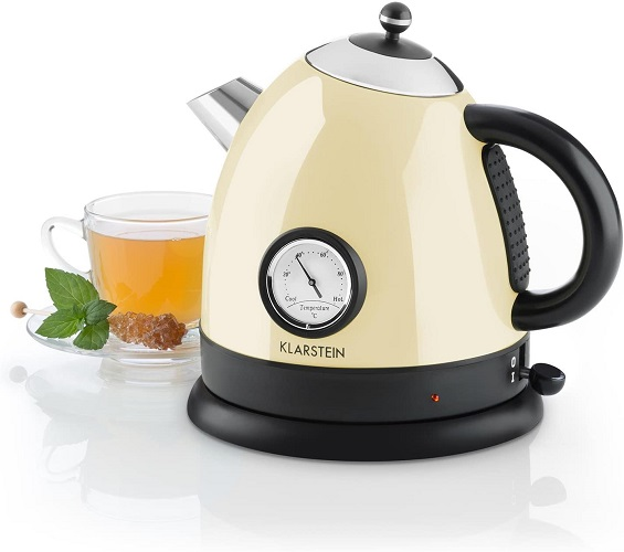 Klarstein Wasserkocher Aquavita Retro Teekessel Teekocher